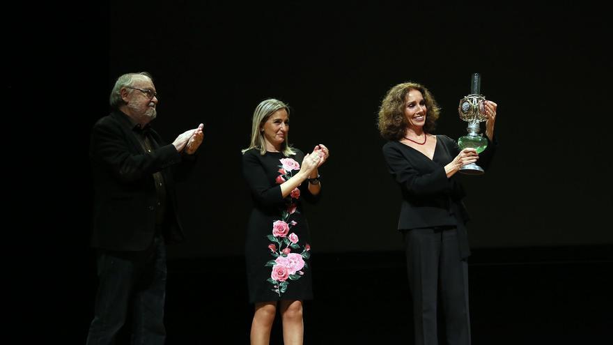 Ana Belén recoge el Premio 'Alice Guy' del Festival CiBRA