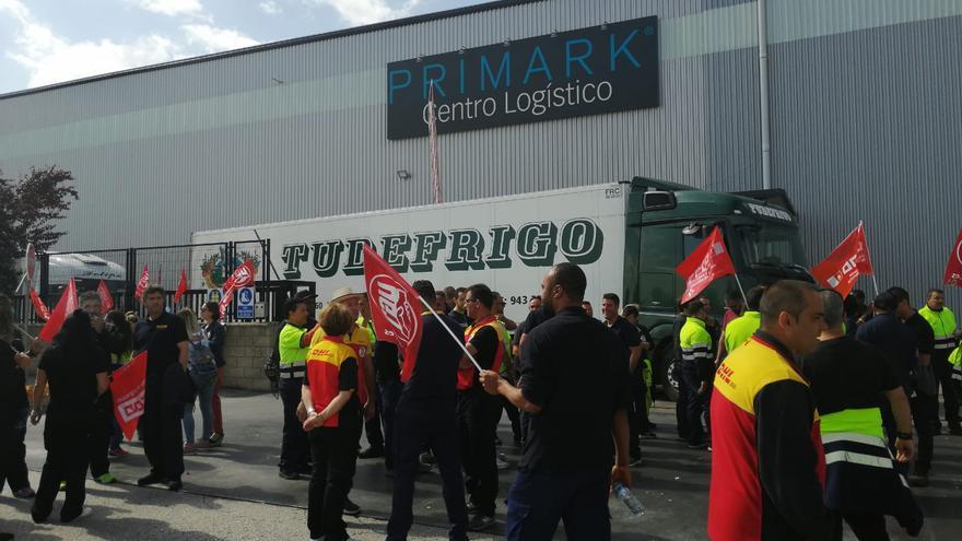 Huelga del almacén de Primark en Torija, Guadalajara