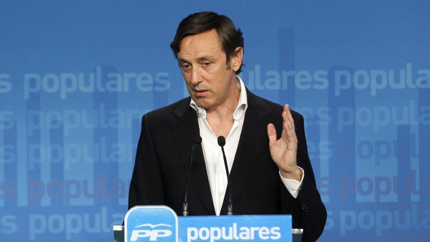 """El PP apela a la """"moderación"""" porque de la crisis no se sale """"enfrentando a unos españoles contra otros"""""""