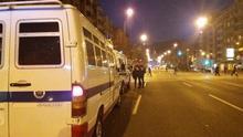 La Ertzaintza carga contra aficionados del Spartak que habían lanzado bengalas en las inmediaciones de San Mamés