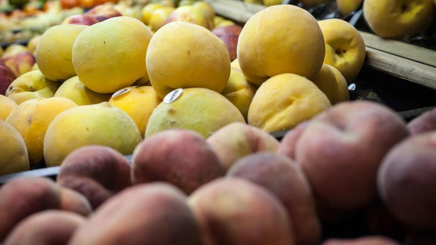 La fruta, una de las principales exportaciones de Aragón. Foto: Juan Manzanara