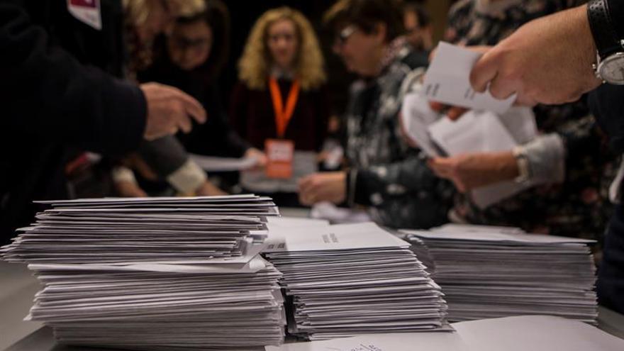 Con el 88 % escrutado Cs gana las elecciones con 36 escaños, 2 más que JxCat