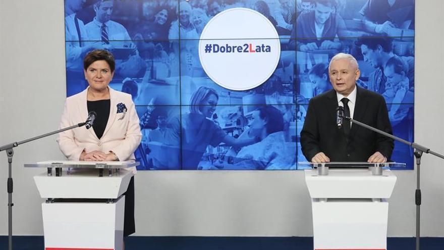 El Gobierno polaco hace un balance positivo al cumplir dos años pese a las críticas