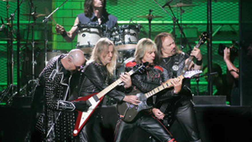 La banda de heavy metal Judas Priest