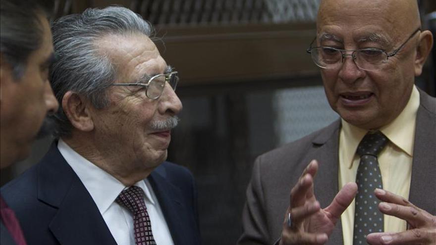 La defensa del exdictador guatemalteco Ríos Montt está en manos de un antiguo enemigo
