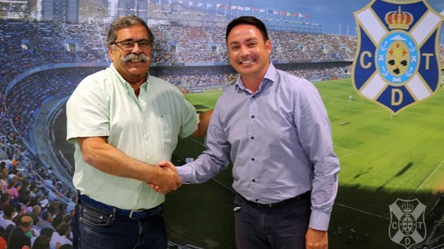 Pedro Rodríguez Zaragoza y Roberto Mikel.