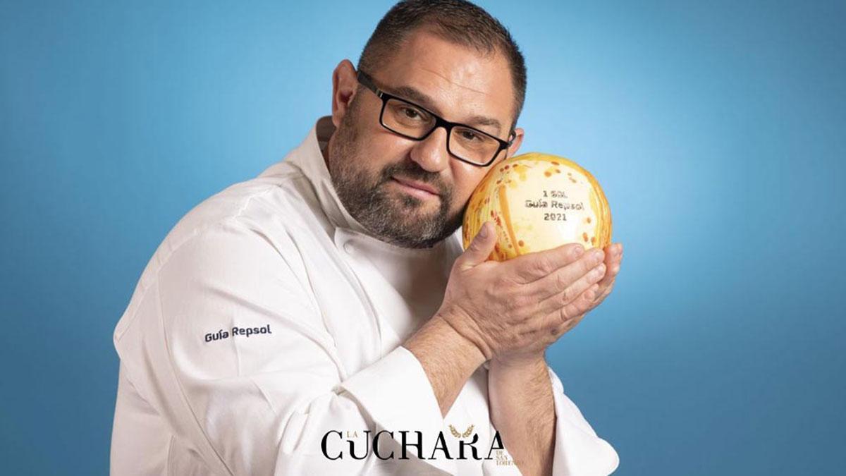 El Chef de La Cuchara de San Lorenzo, Paco López.