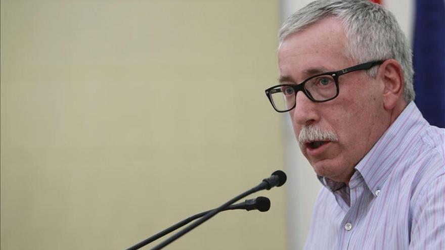 El secretario de CCOO, Ignacio Fernández Toxo. EFE