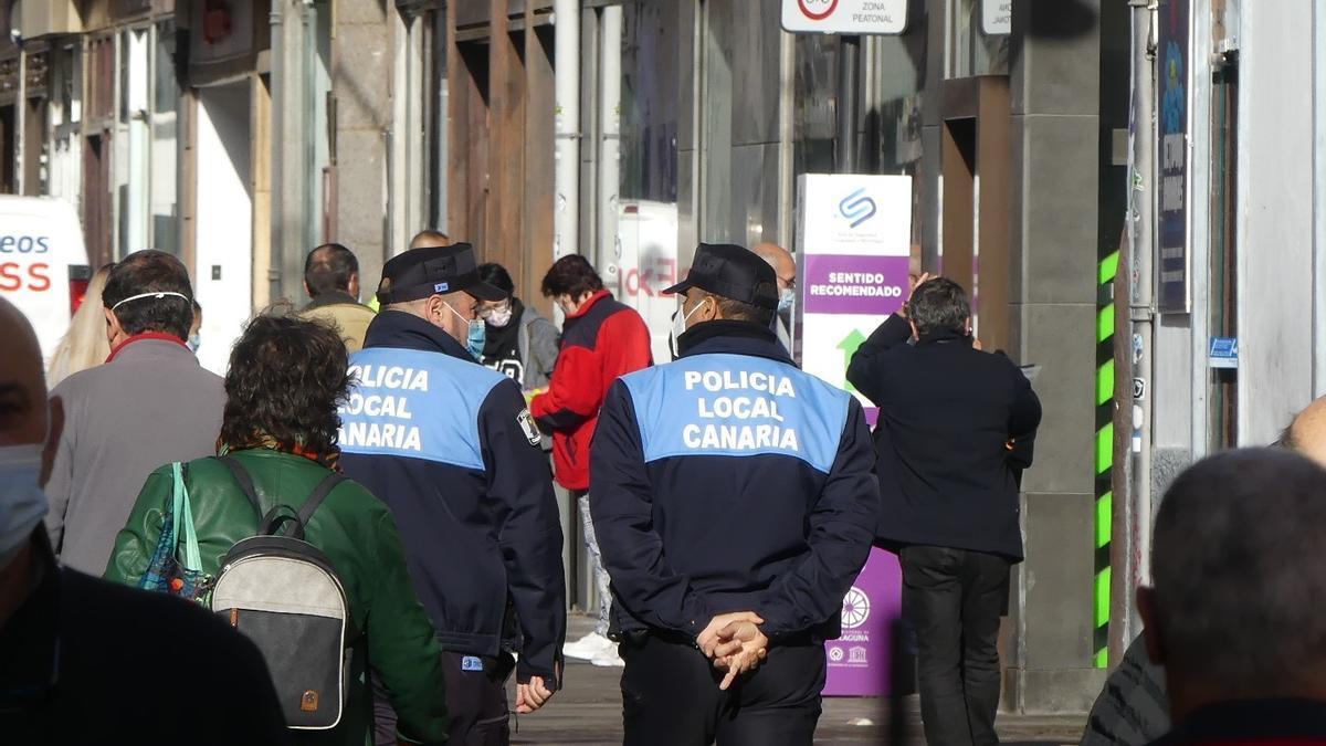 Agentes de la Policía Local de La Laguna, Tenerife