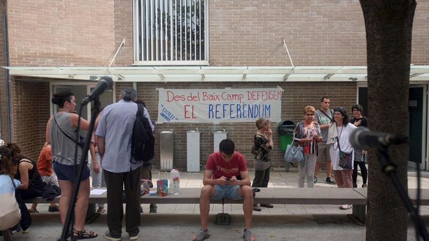 La Colla Jove de Tarragona, el único colegio electoral municipal de la ciudad