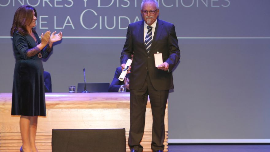 José Carmelo Ortega Santana, Medalla al Mérito Deportivo de Telde