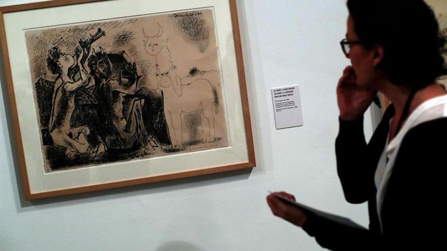 El Museo Picasso muestra la atracción que el pintor sentía por la mitología