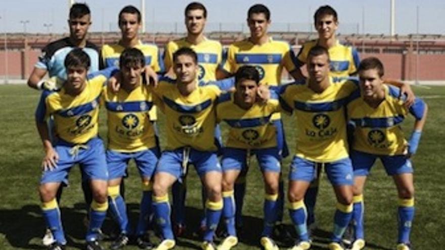 Formación del Juvenil de Las Palmas. (udlaspalmas.es)