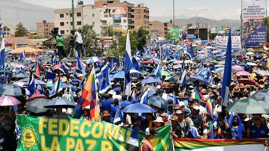 """Morales es de nuevo candidato para proseguir el cambio """"imparable"""" en Bolivia"""