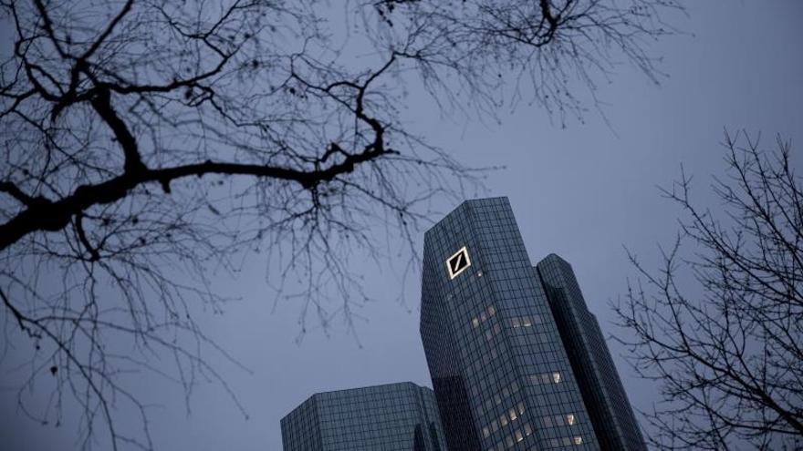 Deutsche Bank cae con fuerza en Fráncfort tras anunciar malos resultados