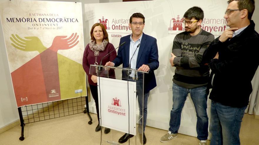 Jorge Rodríguez ha presentado la exhumación dentro de la II Setmana de Memòria Democràtica de Ontinyent