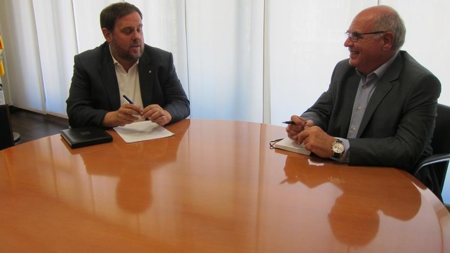 Junqueras prioriza a la CUP para aprobar las cuentas pero se abre al diálogo con SíQueEsPot