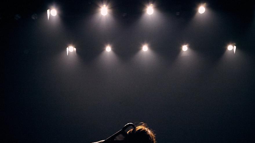 Bárbara Sánchez en su espectáculo de danza durante el ciclo del CICUS, Sevilla /Foto: Tristán Pérez Martín