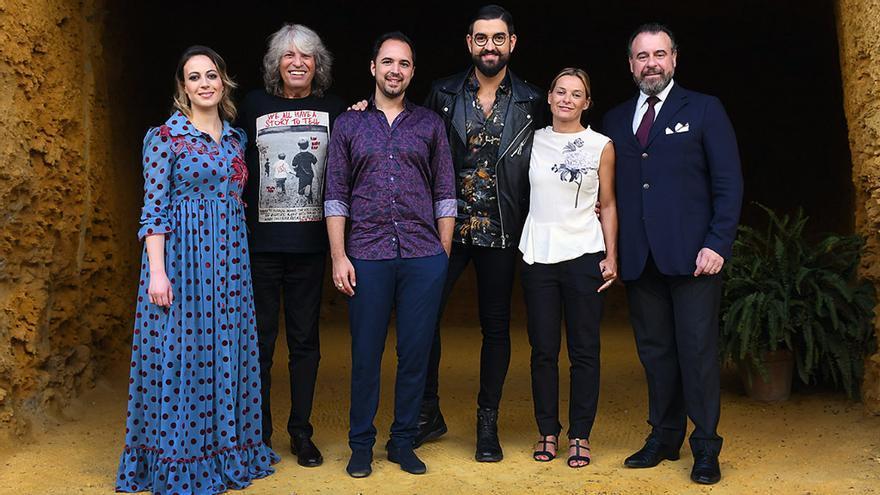 Presentadores y miembros del jurado de 'Tierra de talento'