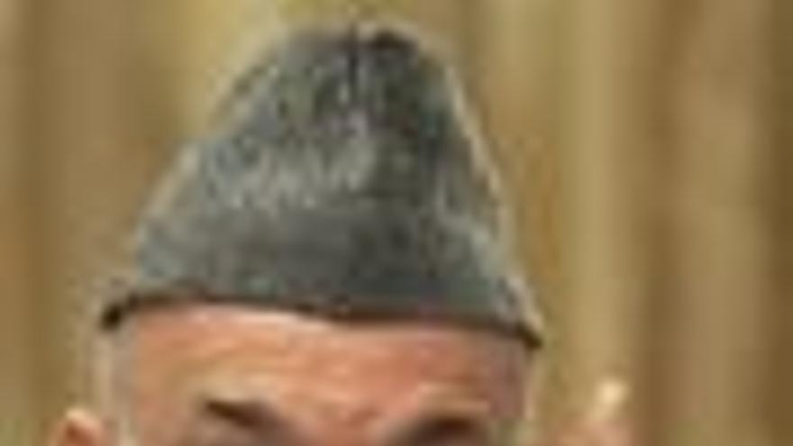 """Karzai dice que eliminará """"la mancha de la corrupción"""""""