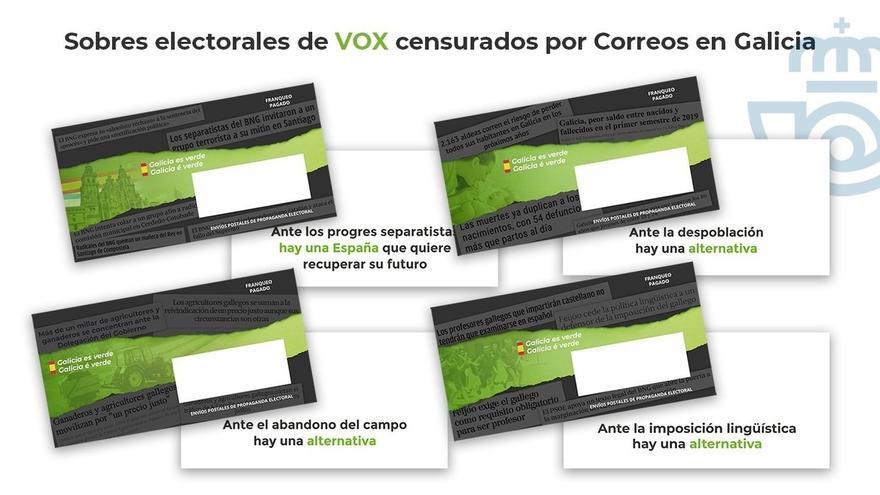 Vox pide llamar al Congreso al presidente de Correos por retener su propaganda electoral