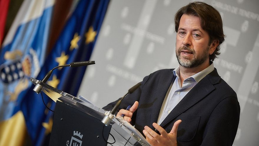 Alonso defenderá ante la dirección de CC la propuesta de que Tenerife tenga un diputado más que Gran Canaria