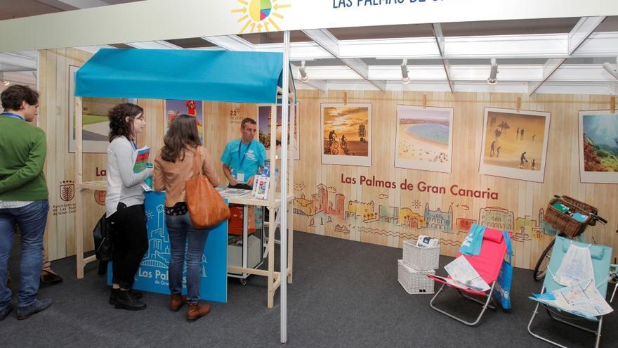 Stand de Las Palmas de Gran Canaria en Infecar