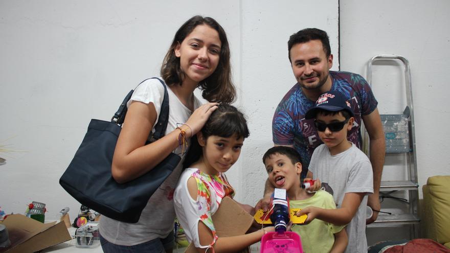Reinaldo y su familia han dado vida al peligroso Supermor