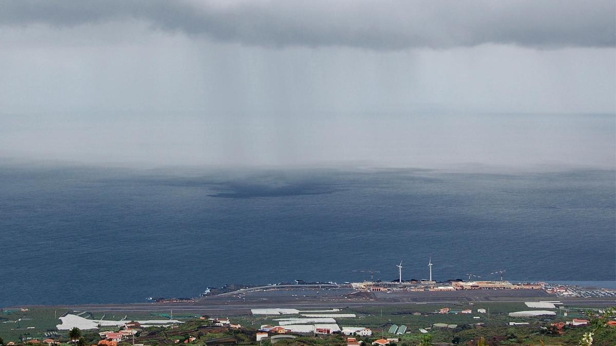 Nuboso en La Palma.
