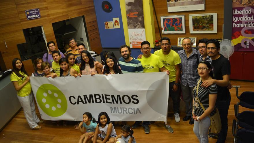 Encuentro de candidatos de Cambiemos Murcia con colectivos de inmigrantes
