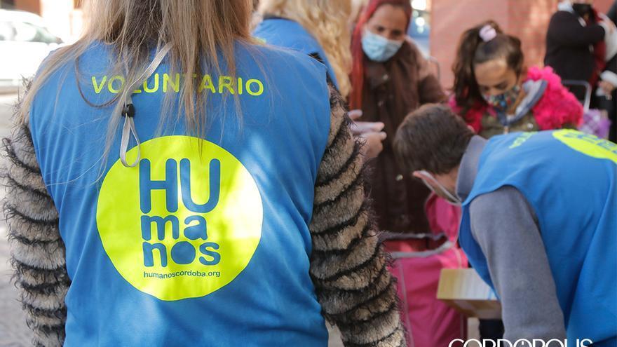 Reparto de alimentos de Humanos Córdoba   JUAN HUERTAS