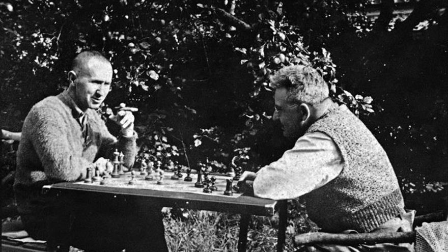 Walter Benjamin y Bertolt Brecht