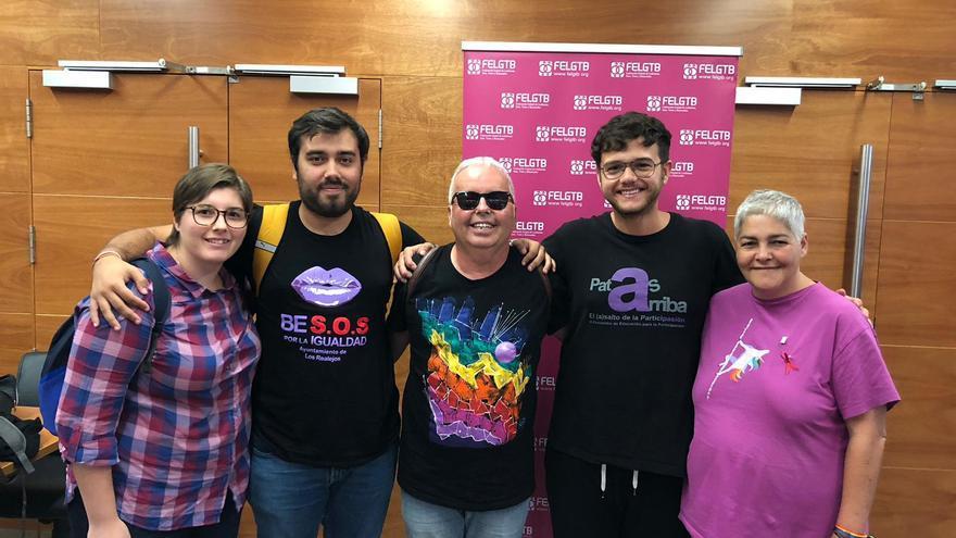Integrantes de la Asociación Diversas, del Valle de La Orotava (Tenerife)