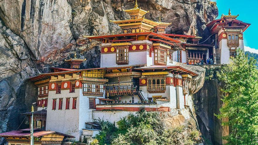 El nido del Tigre, Butan