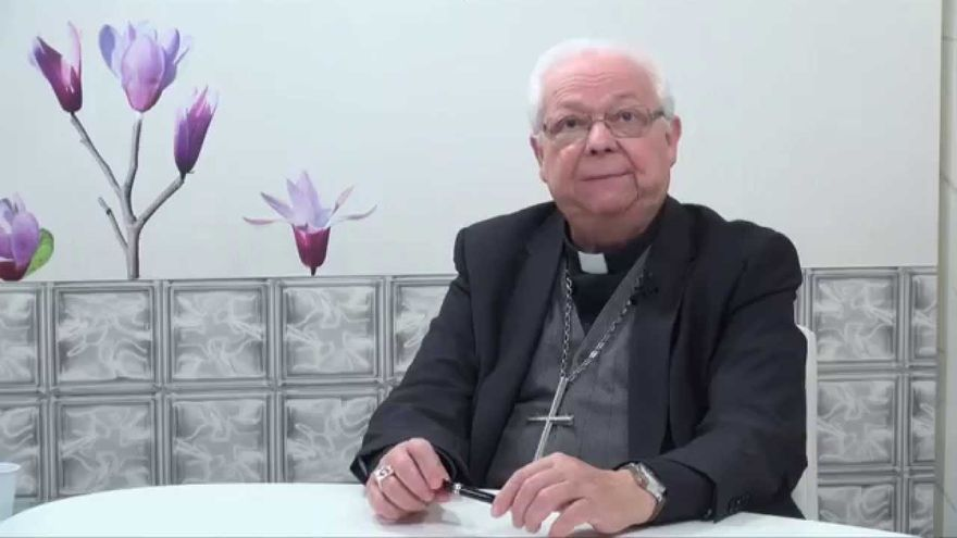 El arzobispo de Girona, Francesc Pardo