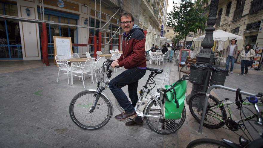 El concejal de Movilidad Sostenible, Giuseppe Grezzi