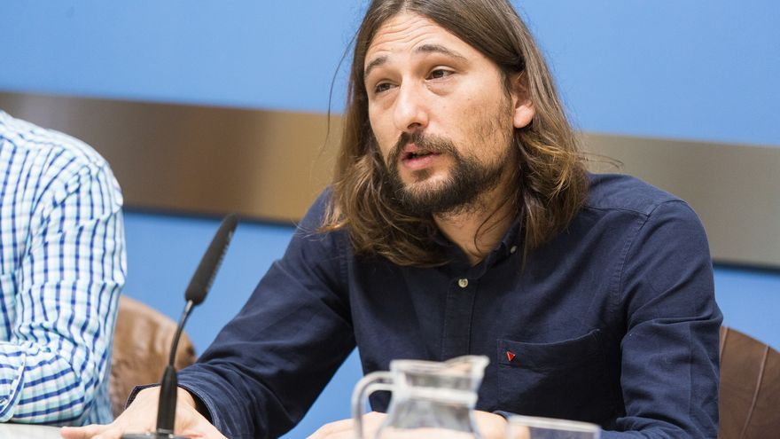 El concejal de Vivienda del Ayuntamiento de Zaragoza, Pablo Híjar, en una imagen de archivo
