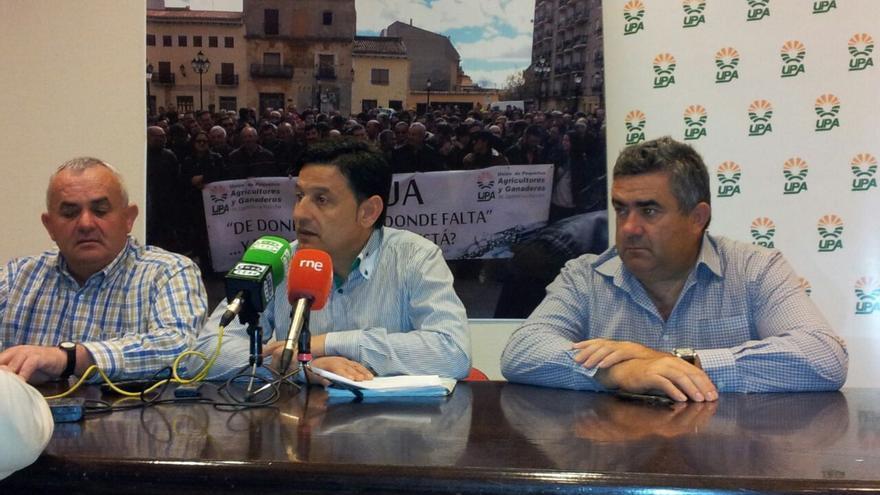 Reda de prensa Unión Pequeños Agricultores Castilla-la Mancha