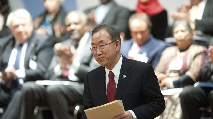 """Ban ve """"progresos"""" en las negociaciones sirias, a pesar de su extrema dificultad"""