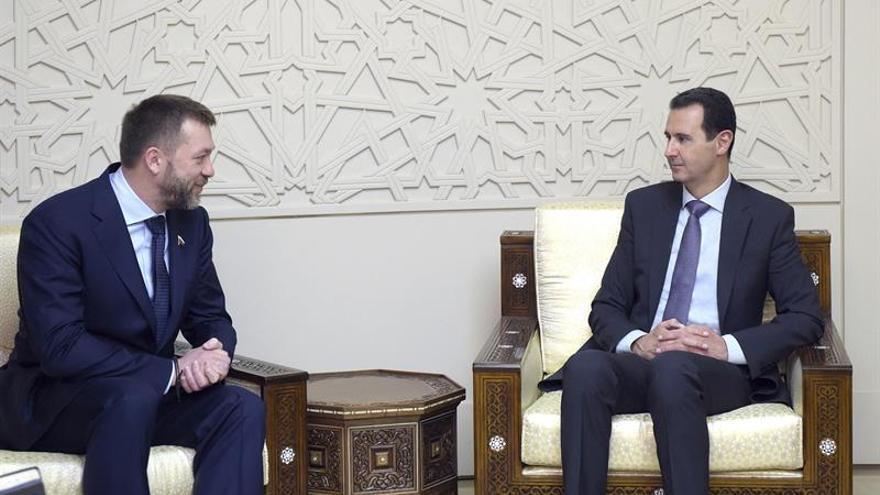Al Asad cree que la situación en Siria va por el camino que Damasco y Moscú desean