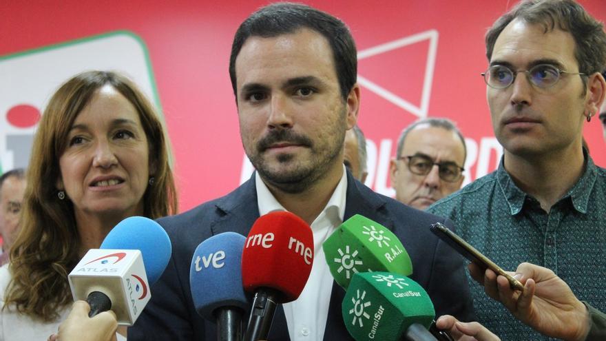 IU tratará hoy en su Coordinadora Federal la situación de tensión en Cataluña y la campaña para el 10N