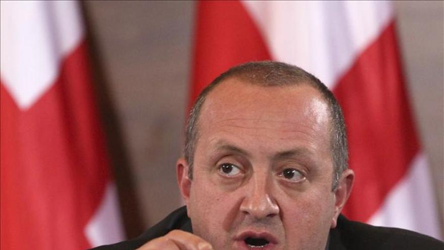 Gueorgui Margvelashvili, investido como presidente de Georgia