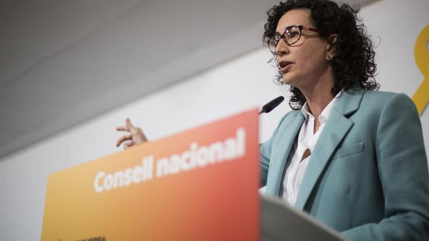 Marta Rovira viaja a Bruselas para reunirse con Carles Puigdemont