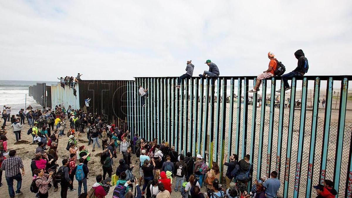 El muro erigido por Donald Trump y cancelado por Joe Biden significó el clímax de los antagonismos en la frontera entre EEUU y México.