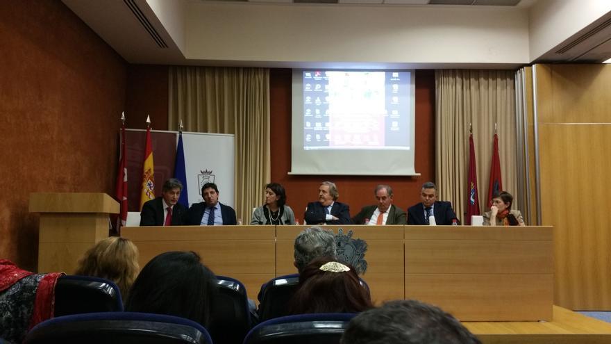 Presentación en el Colegio de Abogados de Madrid.