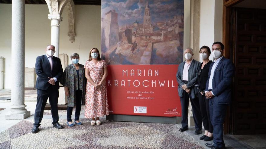 El Museo de Santa Cruz de Toledo expone 80 obras del pintor polaco Marian Kratochwil