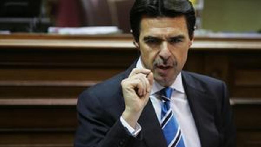 José Manuel Soria, consejero de Economía y Hacienda del Gobierno canario.