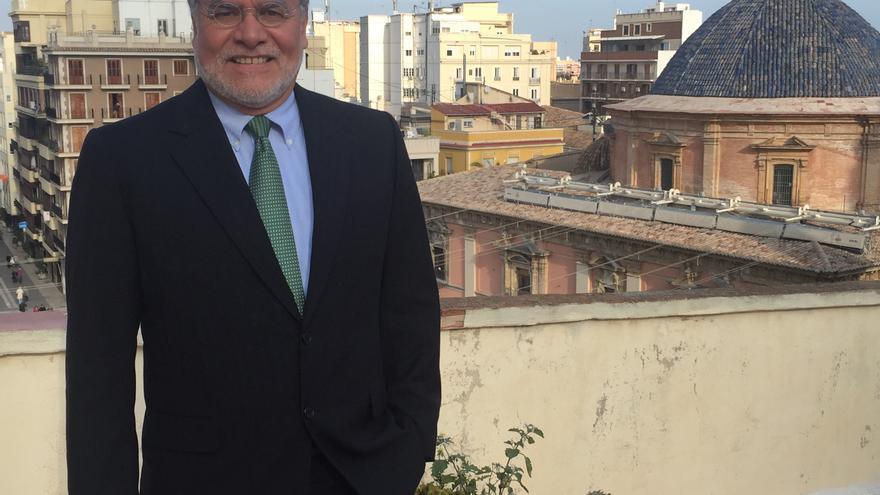 José Ugaz, presidente de Transparencia Internacional, en Valencia