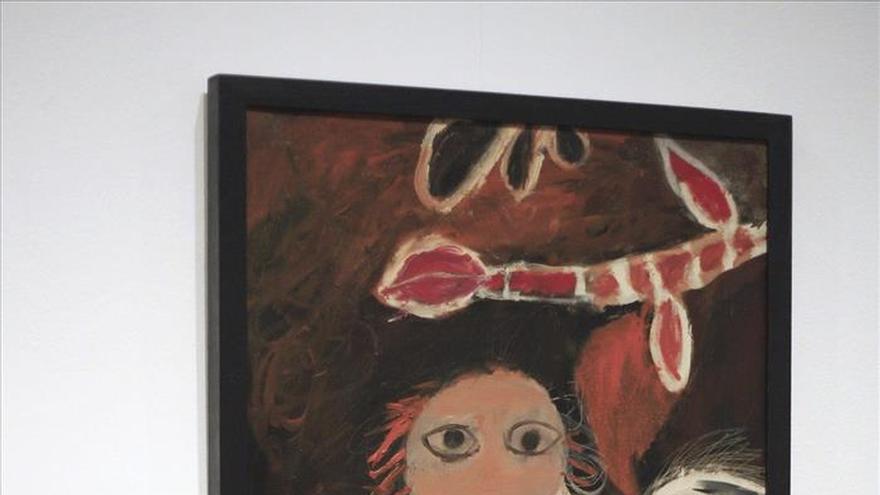 """""""Sarah"""", de Fautrier, y el """"Guernica"""", de Picasso, juntos en el Reina Sofía"""