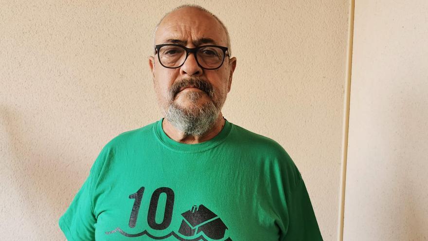 Paco Morote, portavoz de la PAH